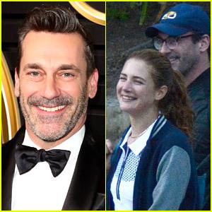 Jon Hamm & 'Mad Men' Co-Star Anna Osceola Are Indeed Dating!