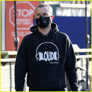 Joshua Jackson Shows Off His New Buzz Cut While Running Errands