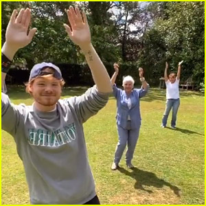 Judi Dench Takes On Laxed Siren Beat Dance on TikTok With Grandson Sam Williams