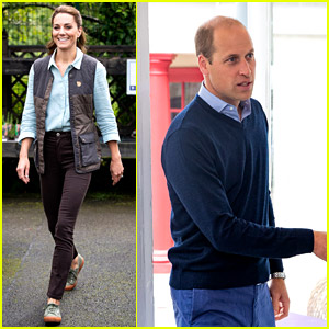 Kate Middleton & Prince William Make Public Appearances Ahead of His Birthday