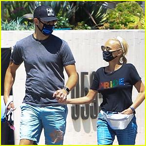 Kristin Chenoweth Shows Her 'Pride' While Walking with Boyfriend Josh Bryant
