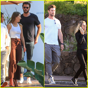 Liam Hemsworth Brings Girlfriend Gabriella Brooks to a Family Lunch