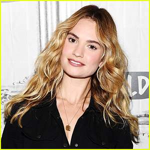 Lily James to Star in 'Peggy Jo,' a True-Crime Love Story!
