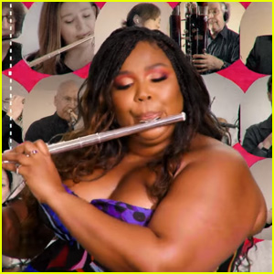 Lizzo Kicks Off YouTube's 'Dear Class of 2020' With Flute Performance - Watch! (Video)