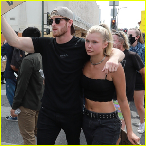 Logan Paul & Girlfriend Josie Canseco Show Their Support at Black Lives Matter Protest