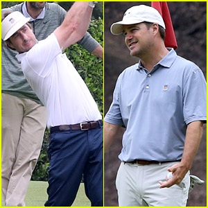 Luke Wilson & Chris O'Donnell Played Golf with Two Sports Legends!
