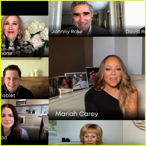 Mariah Carey Crashes 'Schitt's Creek' Cast Performance of 'Hero' on YouTube's 'Dear Class of 2020' - Watch! (Video)
