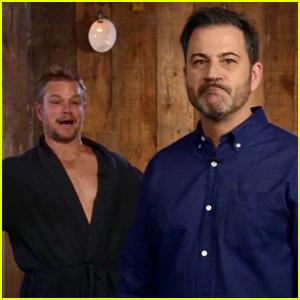 Matt Damon Isn't Happy Jimmy Kimmel is Taking a Break From His Show This Summer - Watch!