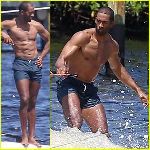 New 'Bachelor' Matt James' Chiseled Shirtless Body is On ...