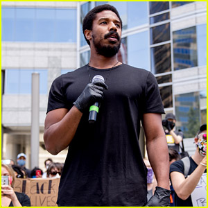 Michael B. Jordan Calls on Execs to 'Commit to Black Hiring' in Passionate Speech at BLM March