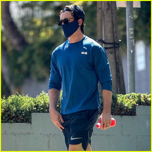 Miles Teller Hits the Gym in a Face Mask Amid News of New Role!