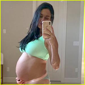 Nikki Bella Says Her Baby Bump Is Getting 'Very, Very Big'