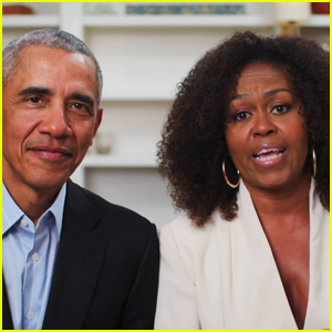 Barack & Michelle Obama Deliver a Heartwarming Speech to Graduates for YouTube's 'Dear Class of 2020' - Watch! (Video)