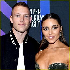 Olivia Culpo Kisses Hot Boyfriend Christian McCaffrey & His Mom Has Some Thoughts!