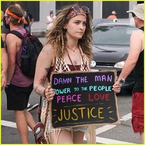 Paris Jackson Joins Peaceful Protesters for Another Day of L.A. Protests