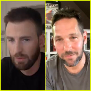 Chris Evans Asks Paul Rudd About His Penis Size - Watch! (Video)
