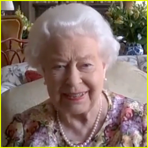 Queen Elizabeth Does Public Zoom Call With Daughter Princess Anne For Carers Week