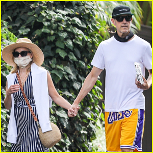 Reese Witherspoon & Husband Jim Toth Hold Hands on Afternoon Walk