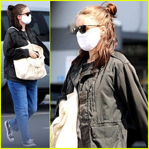 Pregnant Rooney Mara Keeps Her Bump Covered While Heading to a Checkup