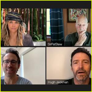Ryan Reynolds Crashes Original 'X-Men' Cast's Virtual Reunion Featuring Hugh Jackman, Halle Berry, & More - Watch!