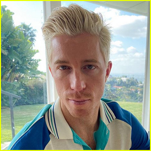 Shaun White Debuts Bleached Blonde Hair!