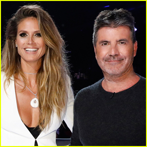 Simon Cowell Talks Having to Replace Heidi Klum on 'America's Got Talent' After She Got Sick