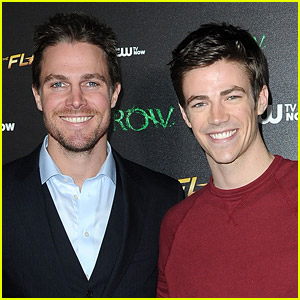Stephen Amell Praises Grant Gustin's Response to 'Flash' Co-star's Offensive Tweets