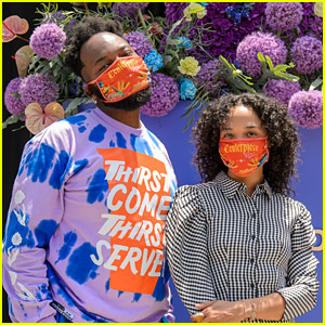 Tessa Thompson Celebrates Juneteenth at 'Centerpiece' Pop Up Event With Maurice Harris