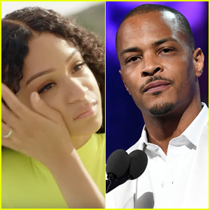 T.I.'s Daughter Tears Up While Discussing Her Father's Gynecologist Comments - Watch