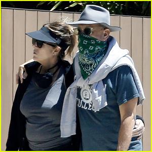 Tom Hanks & Rita Wilson Cozy Up on Sunday Afternoon Walk