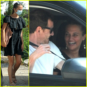 Alicia Vikander & Michael Fassbender Photographed Together in Rare Outing!