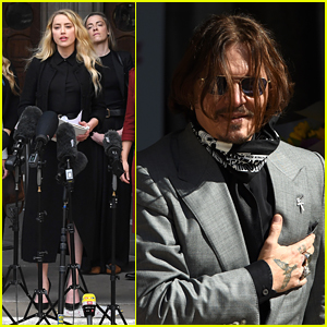 Amber Heard Gets Emotional After Johnny Depp's Lawyer Calls Her a Liar On Last Day of Libel Case