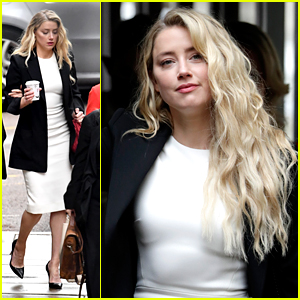 Amber Heard Leaves High Court With Her Team as Johnny Depp's Libel Case Starts To Wrap Up