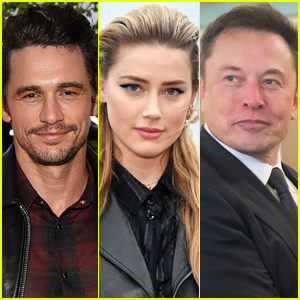 Amber Heard's Private Conversations with Elon Musk & James Franco Revealed