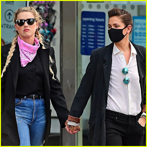 Amber Heard Goes Sightseeing with Girlfriend Bianca Butti During a Break from Trial