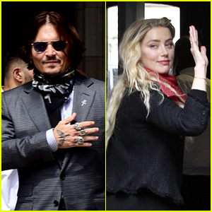 Amber Heard Claims She Hit Johnny Depp After He Tried to Throw Her Sister Down the Stairs