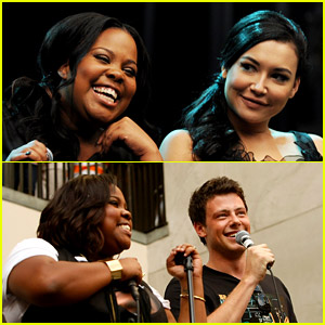 Glee's Amber Riley Says Naya Rivera & Cory Monteith's Names Every Day to Honor Their Lives