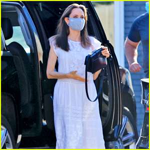 Angelina Jolie Emerges for the First Time in Months, Wears a Face Mask to Shop!