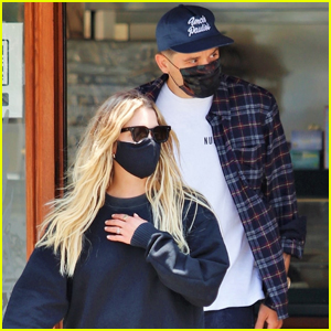 Ashley Benson & Boyfriend G-Eazy Couple Up for Lunch with Friends