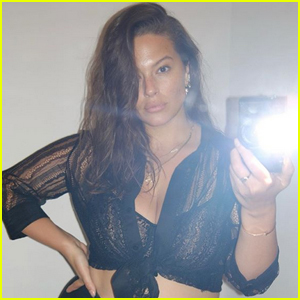 Ashley Graham Conquers Sleep Training Son Isaac, Celebrates with Sexy Selfie