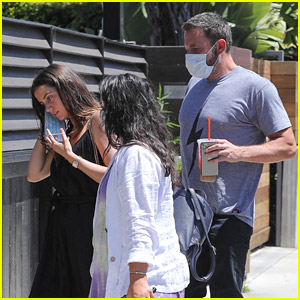 Ben Affleck & Ana de Armas Run a Friday Errand Together in L.A.