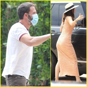 Ben Affleck & Ana de Armas Couple Up for Lunch Date in Malibu
