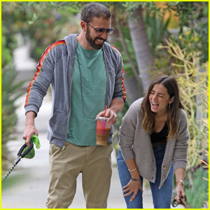 Ben Affleck & Girlfriend Ana de Armas Crack Up Together During Morning Walk