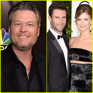 Blake Shelton Makes Fake Behati Prinsloo Tweet to Poke Fun at Her Husband Adam Levine!