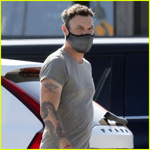 Brian Austin Green Grabs Coffee After Hang Out with Courtney Stodden