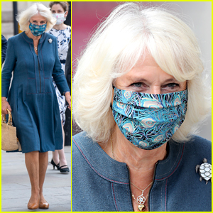 Camilla, Duchess of Cornwall Is First Royal to Publicly Wear Face Mask