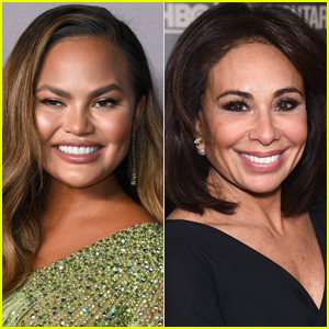 Chrissy Teigen Calls Out Jeanine Pirro For Looking at Pic of Her Boobs