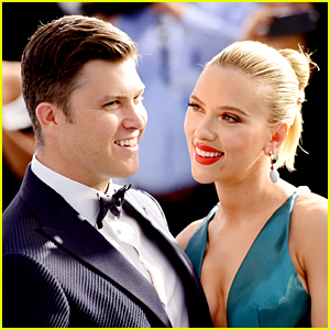Colin Jost Blames Scarlett Johansson For That Viral Guitar Moment on 'SNL'