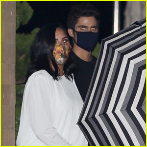 Demi Lovato & Max Ehrich Celebrate Their Engagement at Nobu!
