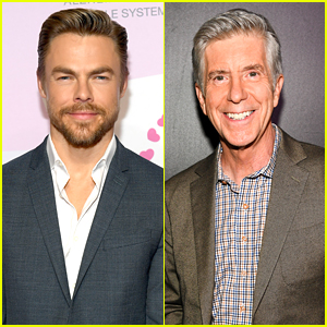 Derek Hough Says He Was 'Shocked' About Tom Bergeron Being Fired From 'Dancing With The Stars'